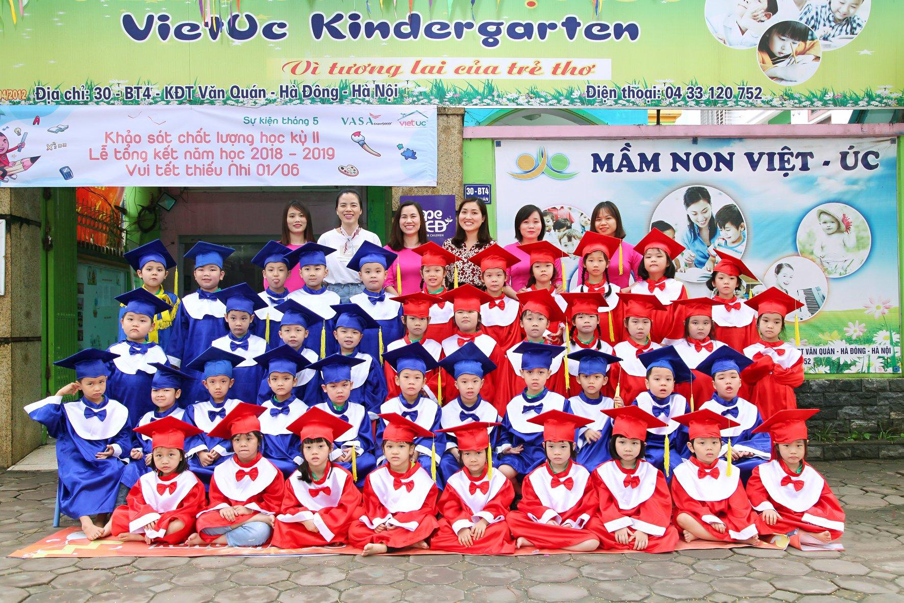 Hệ thống mầm non Việt Úc Montessori - Kỷ yếu ra trường 2019
