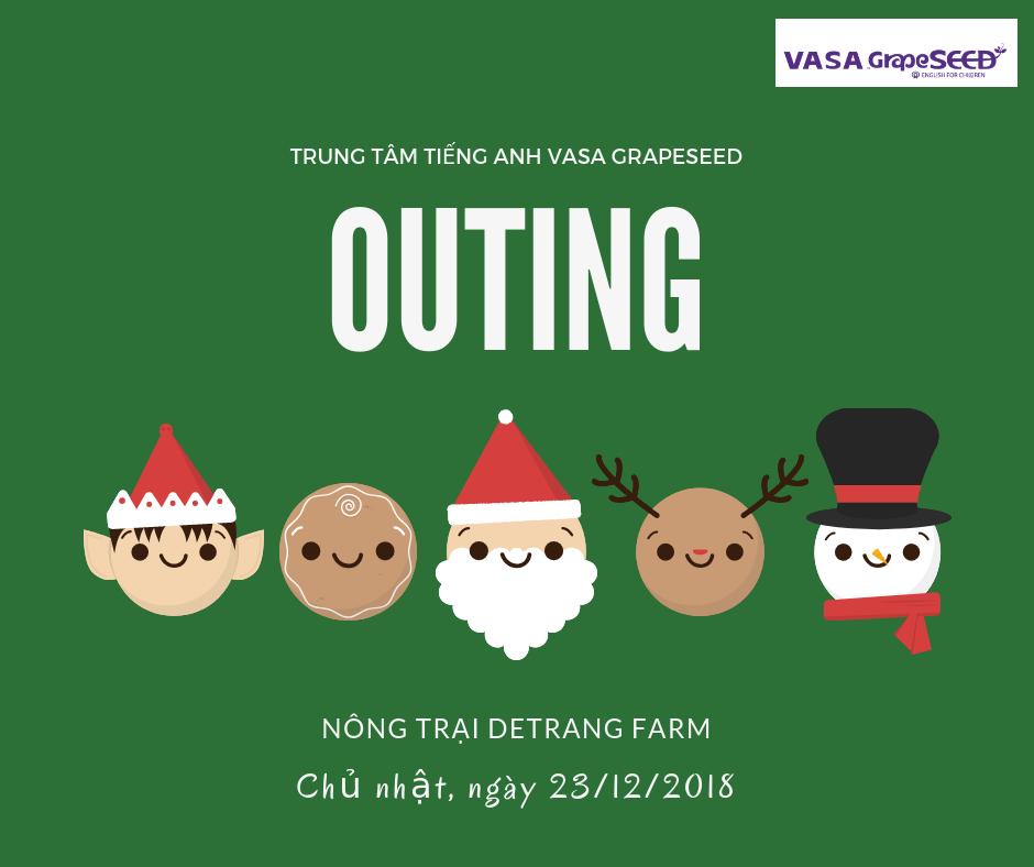 OUTING - DÃ NGOẠI DETRANG FARM CÙNG VASA GRAPESEED