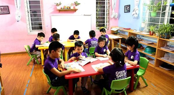 Mầm non Việt Úc Montessori - sự lựa chọn hoàn hảo để trẻ phát triển toàn diện