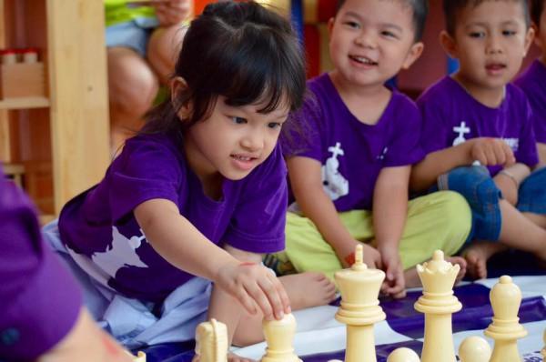 Cờ vua giúp trẻ thông minh hơn